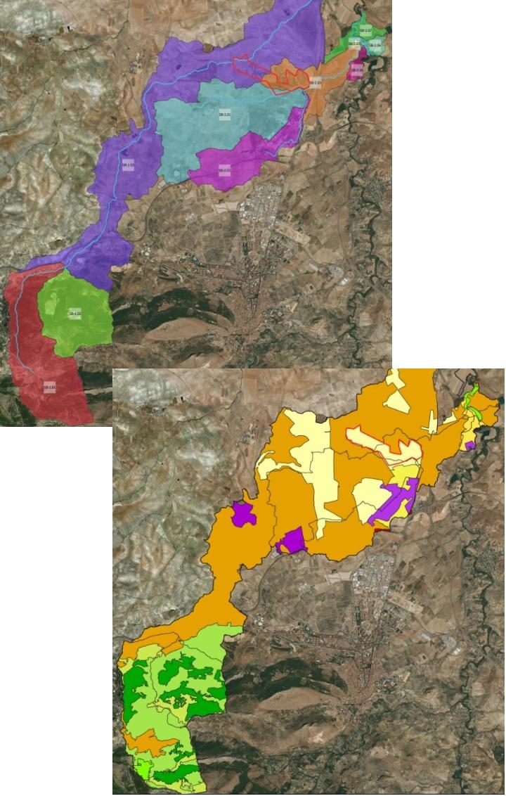 Definición de cuencas y calados